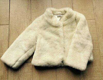 Next Faux Fur Jacket 2-3 Years