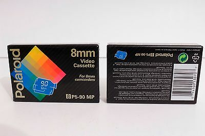 Lote de 2 Polaroid 8 mm 8 P5-90MP Sealed