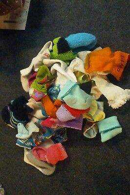 baby socks lot boys girls mixed singles and pairs babies newborn - 18 months apx