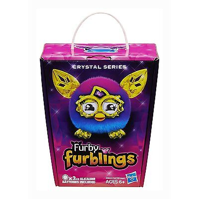 Furby Furbling - Crystal Series Pink/blue ** Brand New In Box**