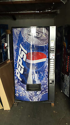 Vendo 407-8 Soda Vending Machines Refurbished W/Bills & Coins Made in America