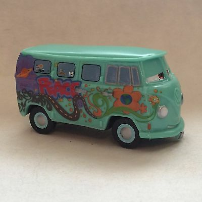 Disney Store Authentic CARS FILLMORE FIGURINE Cake TOPPER PIXAR TOY NEW