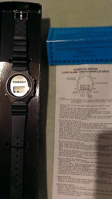 Vintage Timecop Movie Watch promo in box w manual