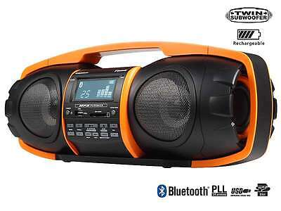Audiosonic Rd 1548 Bluetooth Ghettoblaster Stereoradio Tragbar Usb Subwoofer