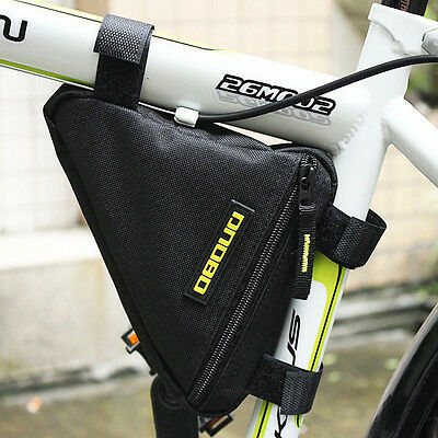 Triangle Bike Bicycle Cycling Riding Bag Pouch, Connects to Frame, Tools Wallets