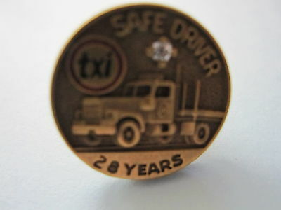 SAFE DRIVER PIN ...TXI with TRUCK Design...Age unknown