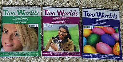 3 x  Two Worlds Magazines Jan - Feb-  March 2016
