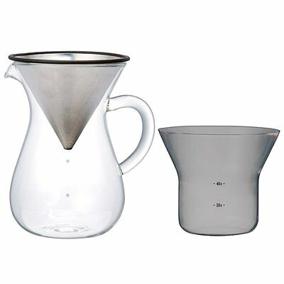 1.1 Liter Kinto Carafe Coffee Set with Strainer No Need for Paper Filters