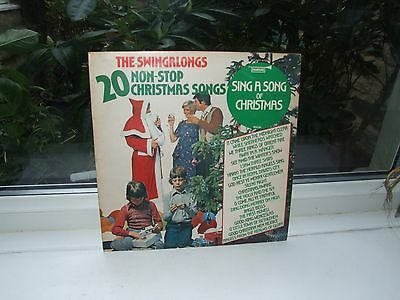 The Swingalongs - 20 Non-Stop Christmas Songs - Fanfare LP SIT 60077