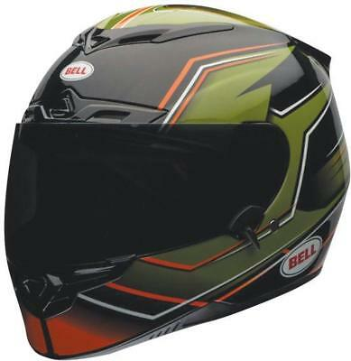 NEW Bell RS-1 Gas Green Orange Run Out Sale Was $499 from Moto Heaven