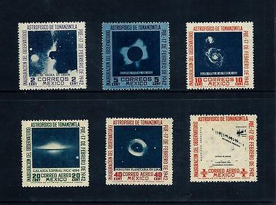 MEXICO _ 1942 'SPACE' SET of 6 _ mh ____(456)