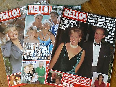 3 Hello Magazines Earl & Countess of Wessex Edward Sophie, Diana, Royal Family