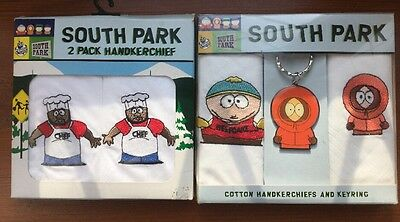 South Park Handkerchief Packets X 2