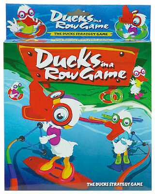 Kids Children  Intelligent Game Ducks In a Row Game