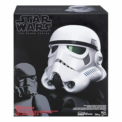 Star Wars Black Series Imperial Stormtrooper Electronic Voice Changer Helmet