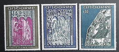 Andorra (1972) Frescoes / Art / Religion / Carvings  - Mint (MNH)