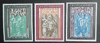 Andorra (1971) Frescoes / Art / Religion / Carvings  - Mint (MNH)