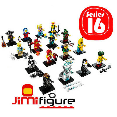 NEW LEGO Minifigures Series 16 Complete Set 16 71013 Sealed Minifigure Figure