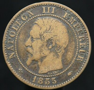 #d79 - France - 2 Centimes Napoleon Iii 1855 A