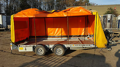 Ifor Williams Ct136 Enclosed Covered In Car Trailers Transporter