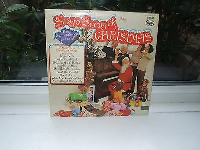 THE SWINGALONGS Sing A Song Of Christmas 1973 UK Vinyl LP EXCELLENT CONDITION
