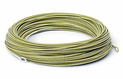 WF7 Weight Forward Floating Fly Line ( Moss Green )