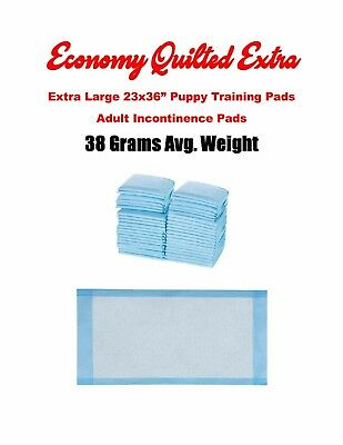 "150 CHEAP LARGE 23x36"" Extra Protection Plus Quilted Economy Adult Underpads"
