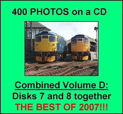 400 British Railway photographs on CD – THE BEST OF 2007