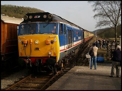 10x8 photo: 50027 LION at North Yorkshire Moors 2007