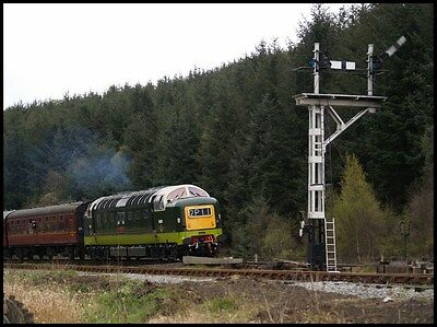 10x8 photo: Deltic D9009 55009 ALYCIDON at North Yorkshire Moors 2007