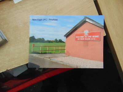 Postcard Junior Football Ground - New Elgin FC - Pinefield