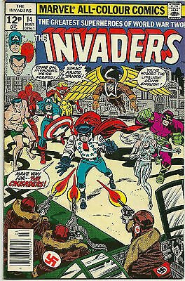 The Invaders #14 March 1977 Uk Variant (Vfn)
