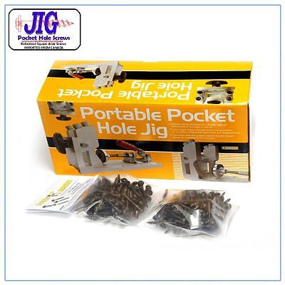 Pocket Hole Jig Pack 3 with Softwood pack 200 screws
