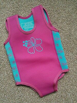 baby girl wetsuit 12-24 month