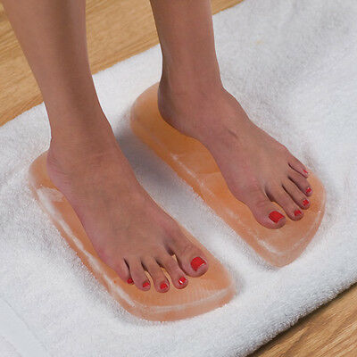 HIMALAYAN SALT DETOX FOOT THERAPY PLATES (NEW)(2 pcs. Included)