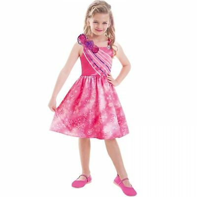 Barbie Doll And the Secret Door Fancy Dress Up Costume Outfit 5-7 Years 997546