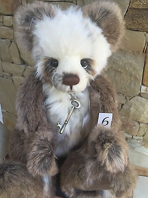 Charlie Bears Susan Fully Jointed Plush 46 cm 2016 Collection Teddy
