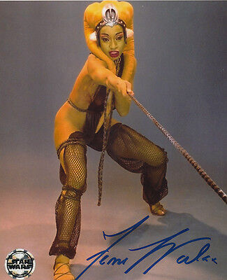 Femi Taylor In Person Signed Photo - B341 - Oola - Star Wars