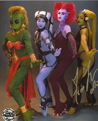 Femi Taylor In Person Signed Photo - B345 - Oola - Star Wars