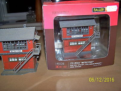 Ho Scale 2-Faller Signal Towers Mittelstadt I Boxed I Unboxed