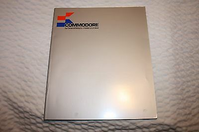 NOS 1978 General Motors Commodore book, Australia's car by GM, great info LOOK