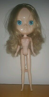 """Nude Factory 12"""" Icy Jecci 5 doll with Ash Blonde hair UK SELLER"""