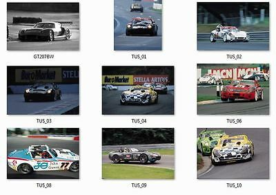 """1999 Tvr Digital Image Library  Press Pack """"high Resolution Images"""""""