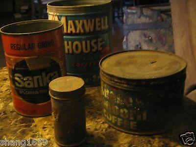 vintage collectible cans/coffee cans/1 never opened