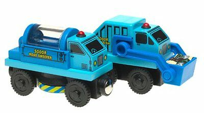 Thomas The Tank & Friends-Sodor Road Crew Sweeper Rubbish Truck **2003*new*usa**