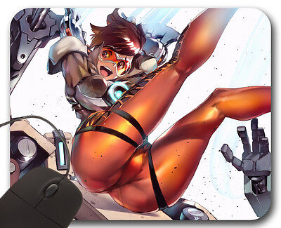 Mousepad Tracer ( P ) - Overwatch Tappetino per Mouse