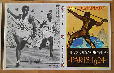 14 Esso Olympic Stickers 1972  (24 Stickers )