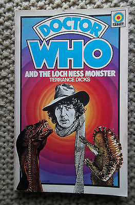 DOCTOR WHO AND THE LOCH NESS MONSTER 1976  FIRST  issue, TARGET BOOK