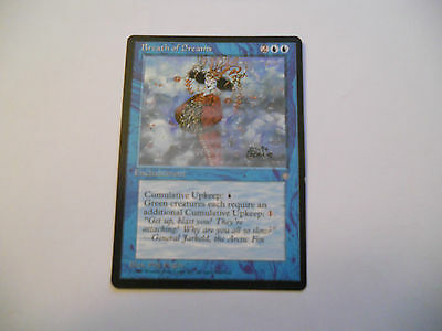 1x MTG Soffio Onirico-Breath of Dreams Magic EDH IA Era Glaciale Ice Age ING x1