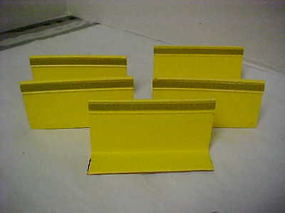 Lot of 24 New YELLOW  Pavement Markers Reflective Road Driveway PEEL AND STICK